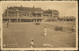 Middelkerke  LE TENNIS Et Le Kursaal   (Ed. NELS Expédiée En 1934  Cachet Touristique ) - Middelkerke