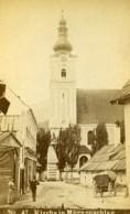 Autriche Mürzzuschlag Eglise Ancienne Photo CDV 1870' - Antiche (ante 1900)