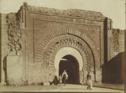 Maroc Marrakech Porte Bab Agnaou Ancienne Photo Felix 1915 - Afrika