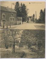 FLORENVILLE Rue De La Station (circulée En 1923) Et Une En Prime, Le Mémabile, Institut Du Dr.P. Famenne (1923) - Belgique