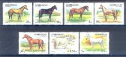 G107- Azerbaijan 1993 Horses. - Azerbaïjan