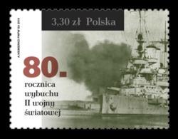Poland 2019 Mih. 5150 Outbreak Of World War II. Ship MNH ** - 1944-.... Republiek