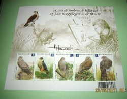 Blok 182** Vogels. 25 Jaar Hoogvliegers In De Filatelie. Les Oiseaux D'André Buzin. 4030/34** Blok 182 MNH - 1985-.. Uccelli (Buzin)