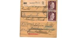 Colis Postal  / De Nesseldorf ( Steierm )  / Pour Waldheim  / 10-11-43 - Alemania