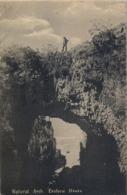 1911 , SUDAFRICA , TARJETA POSTAL CIRCULADA , KNYSNA , NATURAL ARCH - EASTERN HEADS - Sudáfrica