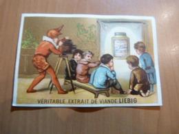 Chromo Liebig. Le Cinématographe. Format; 7 X 10,5 Cm. En Bon état - Liebig
