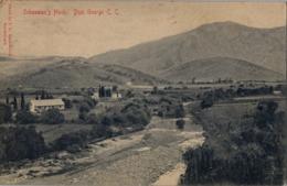 1908 , SUDAFRICA , TARJETA POSTAL CIRCULADA , KNYSNA , SCHOEMAN'S HOEK , DIST. GEORGE C.C. - Sudáfrica