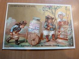 Chromo Liebig. Enfant Bretons. Bretagne. Cornemuse Format; 7 X 10,5 Cm. En Bon état. Hutinet - Liebig