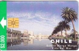 CHILE - Estero Marga Marga/Vina Del Mar, 11/97, Used - Chile