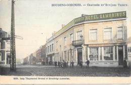 Houdeng-Goegnies NA18: Chaussée Et Rue Des Trieux 1914 - La Louviere