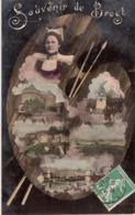 SOUVENIR DE BREST-dép29-1908-TBE - Brest