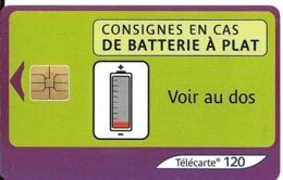 TC-PUBLIC-F1272C-50U-SO3-05/03--BATTERIE 2-UTILISE-TBE - Frankrijk