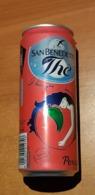 Lattina Italia - San BenedettoThe  - Pesca 33 Cl. - 2019   ( Lattine-Cannettes-Cans-Dosen-Latas ) - Cans