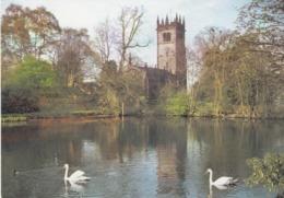 Postcard Parish Church Of St James Gawsworth Ne Macclesfield Cheshire My Ref  B23794 - Other