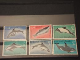 FALKLAND - 1980 FAUNA MARINA 6 VALORI -  NUOVI(++) - Falkland