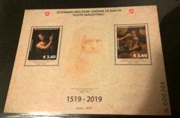 SMOM 2019 LEONARDO DA VINCI - BF INTEGRO - Malte (Ordre De)