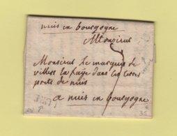 Lure Luxeuil - Haute Saone - Destination Bourgogne - Courrier Non Date - Marcophilie (Lettres)