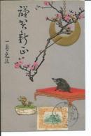 Carte Postale Sanglier Tientsin - China