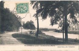 TRILBARDOU .77. Les Bords De La Marne .1907. - Andere Gemeenten