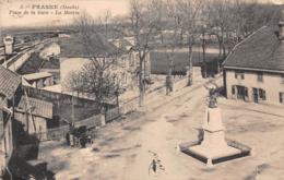 25 - Frasne - Place De La Gare - La Mairie - Le Monument Aux Morts - France