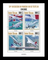 Guinea-Bissau 2019 Mih. 10900/03 Aviation. Supersonic Airliners Concorde MNH ** - Guinea-Bissau