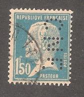 Perforé/perfin/lochung France No 181 CNE Comptoir National D'Escompte (309) - Perforés