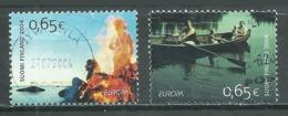 Finlande YT N°1671/1672 Europa 2004 Les Vacances Oblitéré ° - 2004