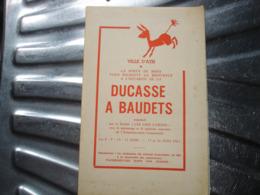 A VOIR !! ATH - DUCASSE A BAUDETS 1963 ( PORTE DE MONS ) - PROGRAMME ( NOMBREUSES PUBS ATHOISES ET REGIONALES ) - Belgio