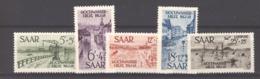 Sarre  :  Yv  244-47  +  AV 12  * - 1947-56 Gealieerde Bezetting