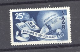 Sarre  :  Yv  277  * - 1947-56 Occupation Alliée