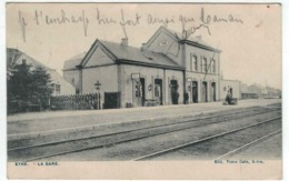 Virton - Ethe - La Gare - Ed. V. Caën - EXTRA RARE - Virton