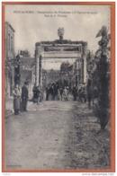 Carte Postale 59. Poix-du-Nord Inauguration  Rue De La Filature  Trés Beau Plan - France