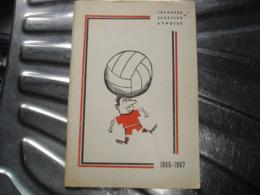A VOIR !! ATH - JEUNESSE SPORTIVE ATHOISE FOOTBALL SAISON 1966 1967 ( NOUVELLES DU CLUB ET PUBS ) - Belgio