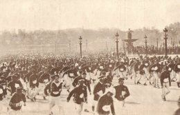 1904 Marche De L' Armée Du 14 Juillet Départ Paris Place De La Concorde - Old Paper