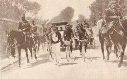 1904 Marche De L' Armée Du 14 Juillet Le Caporal Marchand Du 89ème D'infanterie à Vaucresson - Old Paper