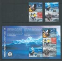 Australian Antarctic Territory 2008 International Polar Year Set Of 4 & Miniature Sheet MNH - Unused Stamps