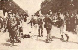 1904 Marche De L' Armée Du 14 Juillet La Croix Rouge Rafraichit Les Coureurs à Boulogne - Old Paper