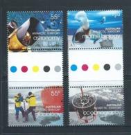 Australian Antarctic Territory 2008 International Polar Year Set Of 4 Se Tenant Gutter Pairs MNH - Unused Stamps