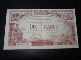 BILLET - EPARGN' OBLIGATIONS PRIME - DIX FRANCS - VALEURS FRANCAISES D'ETAT CLERMONT-FERRAND (C.N) - Andere