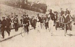 1904 Marche De L' Armée Du 14 Juillet Entre Vaucresson Et Garches - Old Paper