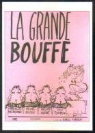 Carte Postale : La Grande Bouffe (Marco Ferreri - Cinéma Affiche Film) Illustration Reiser - Plakate Auf Karten