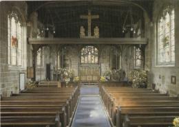 Postcard Easter Day Gawsworth Parish Church My Ref  B23800 - Other