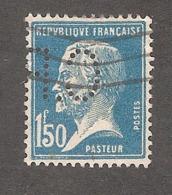 Perforé/perfin/lochung France No 181 C.P Ag. Marit. Borghans Ch. Poulain - C. Poulet - Perforés