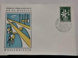 Cercle Philatélique De La Moselle, Wasserbillig 1958 - Brieven En Documenten