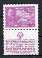 Yugoslavia 1948 Mint Mnh T - Unused Stamps