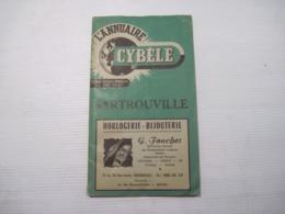 L'ANNUAIRE CYBELE  SARTROUVILLE   48 Pages 2 Plans Carte  Nombreuses Publicités D'époque 1954 TBE - Publicités