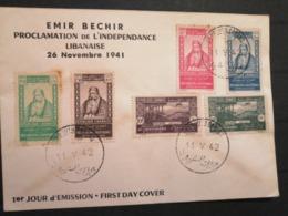 Liban Lebanon Emir Bechir Proclamation Independence 1941 Rare - Libano