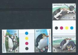 Australian Antarctic Territory 2007 Royal Penguins Set Of 2 Se Tenant Gutter Pairs MNH - Unused Stamps