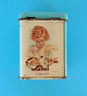 SUMI - LJUBLJANA ... Slovenia Ex Yugoslavia Beautifull Vintage Tin Box For Candy * Slovenija Ex Jugoslavija - Boxes