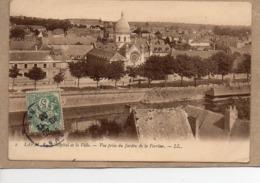 (53) - LAVAL - L'HOPITAL ET LA VILLE - VUE PRISE DU JARDIN DE LA PERRINE - 1906 - Laval